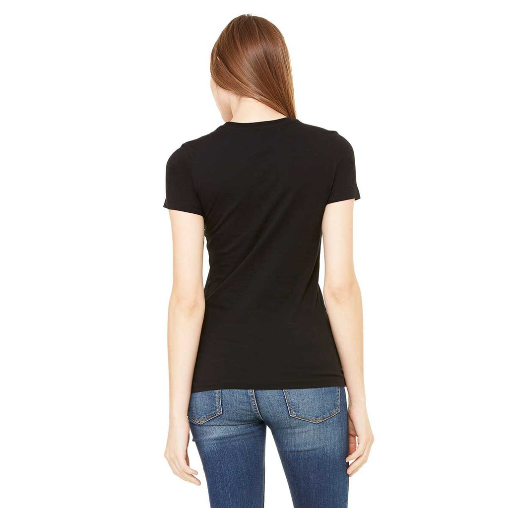 Bella + Canvas Women's Black Made in the USA Favorite T-Shirt