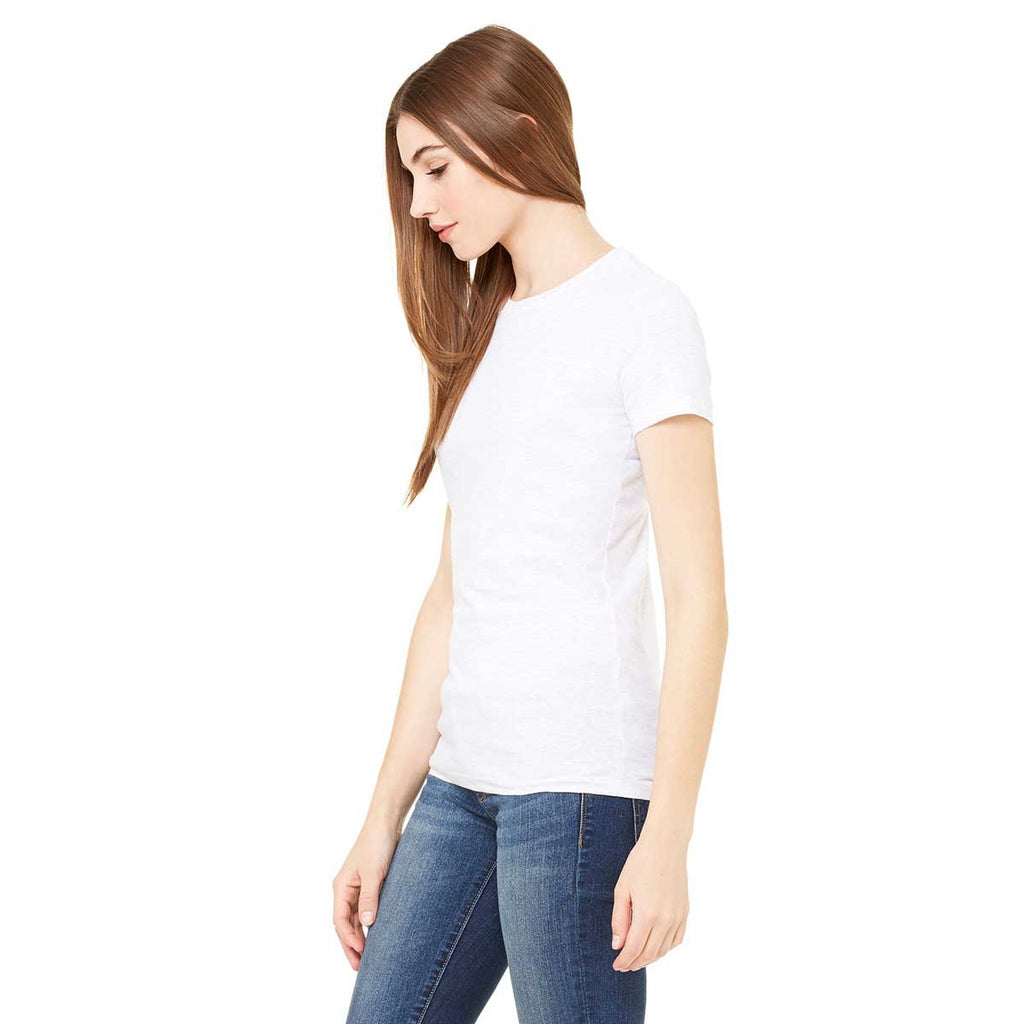 Bella + Canvas Women's White Made in the USA Favorite T-Shirt