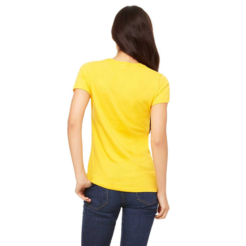 Bella + Canvas Women's Gold Jersey Short-Sleeve T-Shirt
