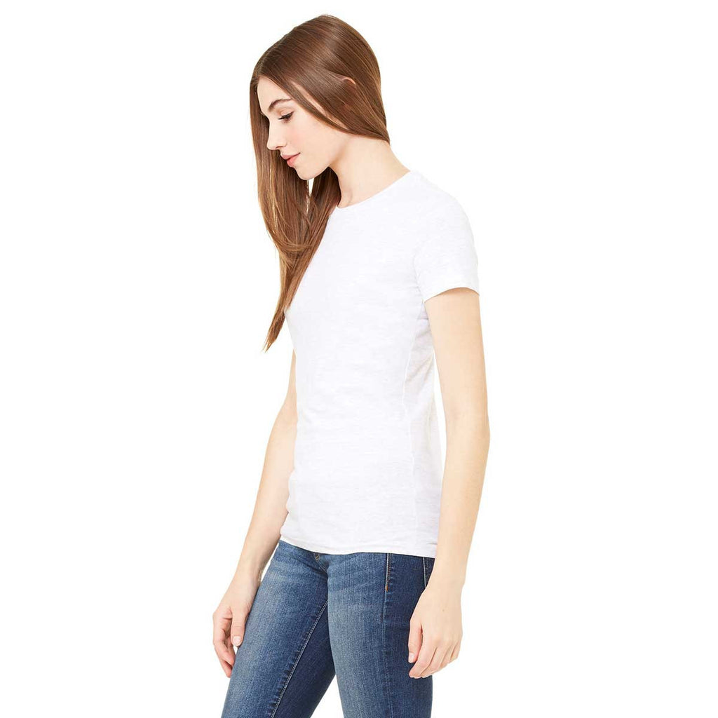Bella + Canvas Women's White The Favorite T-Shirt