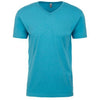 6240-next-level-blue-v-neck-tee