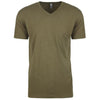 6240-next-level-olive-v-neck-tee