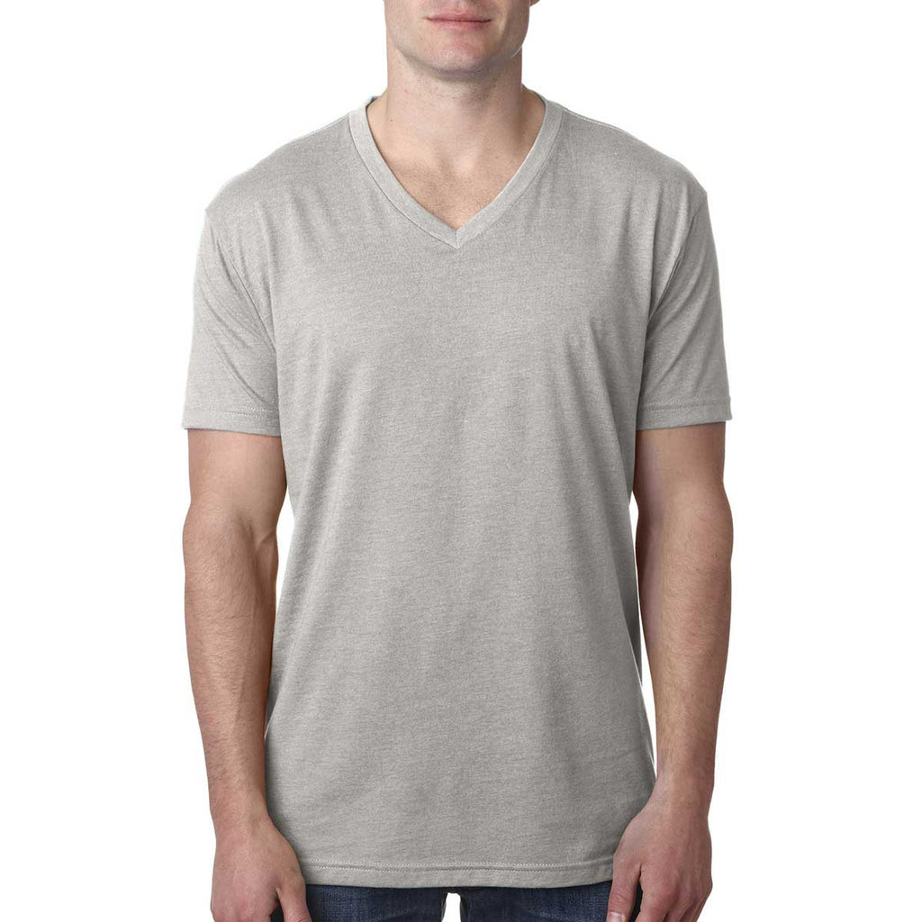 Next Level Men's Silk Premium CVC V-Neck Tee
