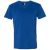 6440-next-level-blue-v-neck-tee