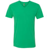 6440-next-level-green-v-neck-tee