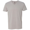 6440-next-level-light-grey-v-neck-tee