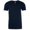 6440-next-level-navy-v-neck-tee