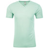 6440-next-level-mint-v-neck-tee