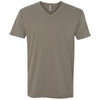 6440-next-level-grey-v-neck-tee