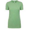 6610-next-level-women-light-green-tee