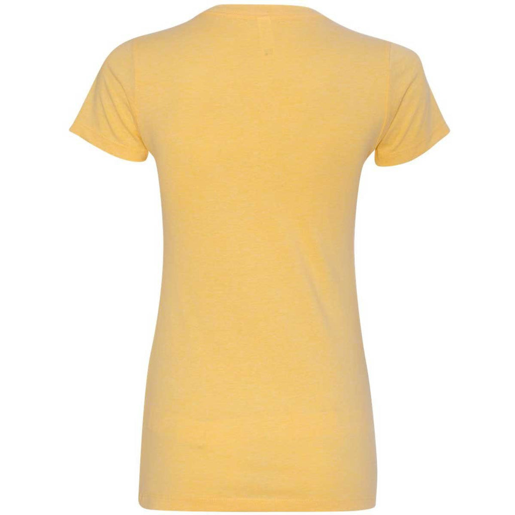 Next Level Women's Banana Cream CVC Crew Tee