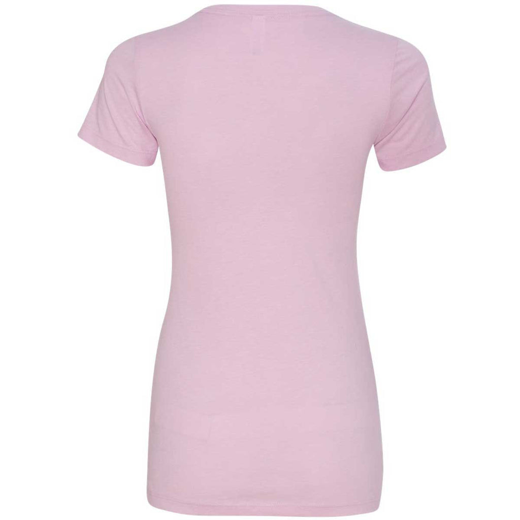 Next Level Women's Lilac CVC Crew Tee