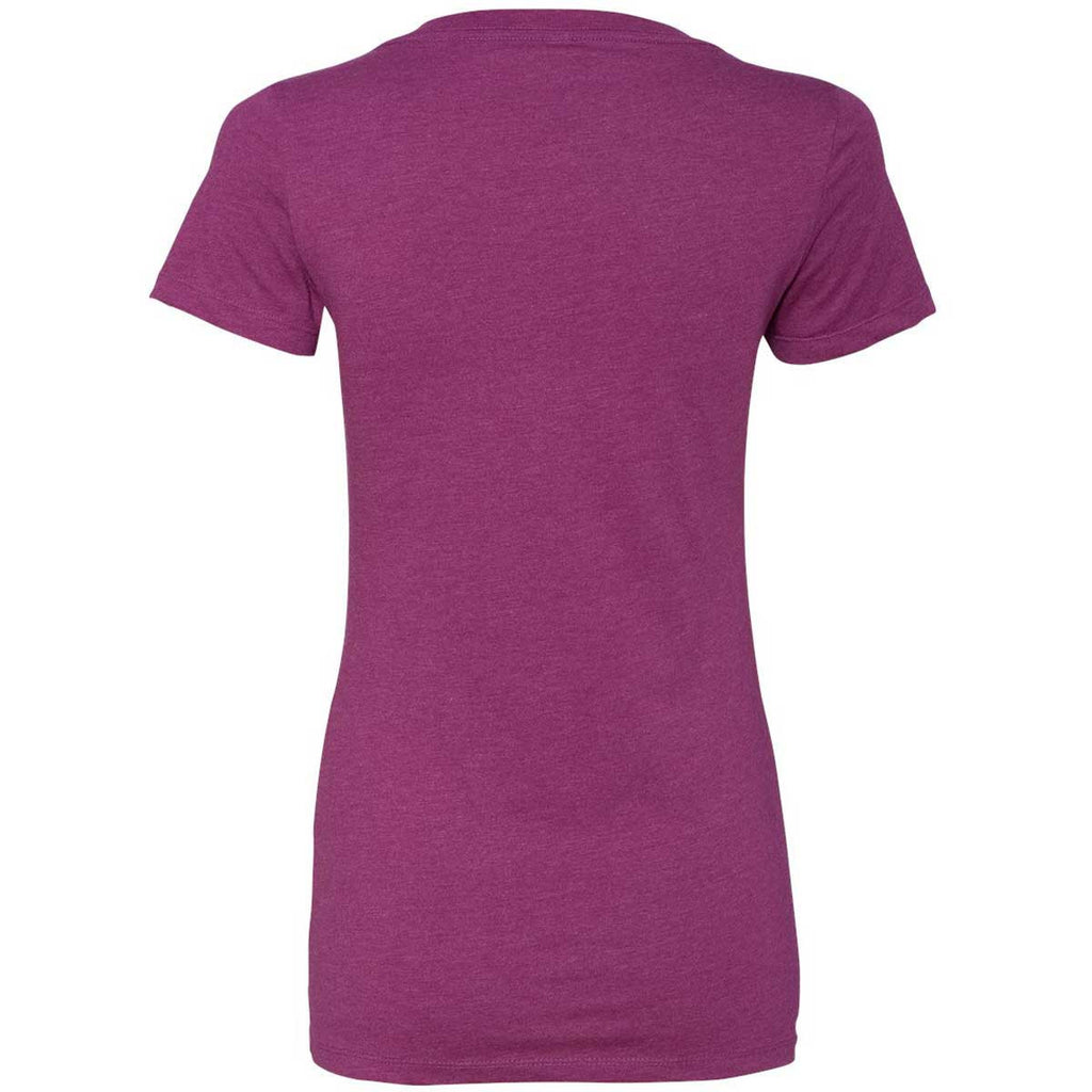 Next Level Women's Lush CVC Deep V Tee
