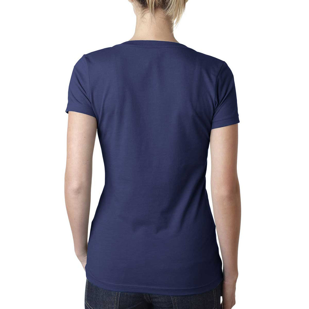 Next Level Women's Storm CVC Deep V Tee