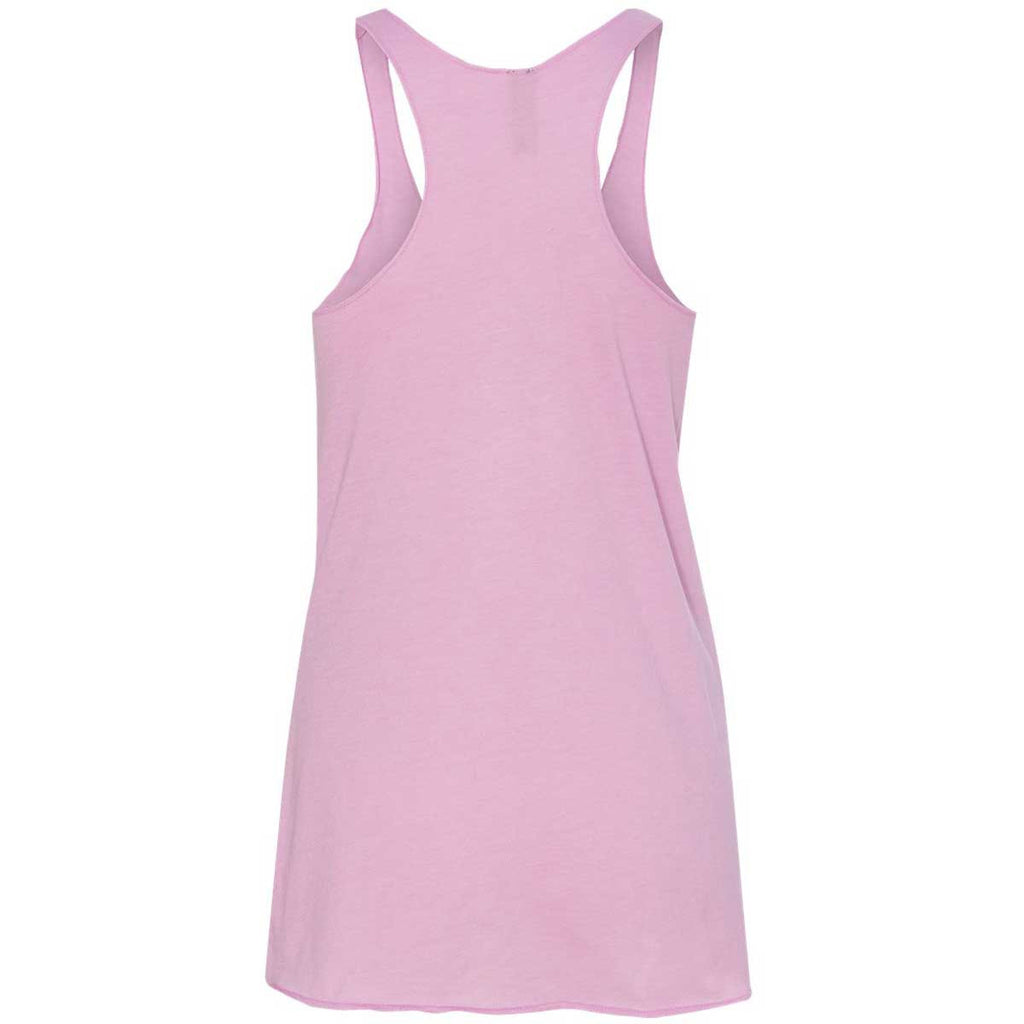 Next Level Women's Vintage Lilac Triblend Racerback Tank