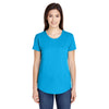 6750l-anvil-women-turquoise-t-shirt