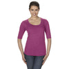 6756l-anvil-women-raspberry-t-shirt