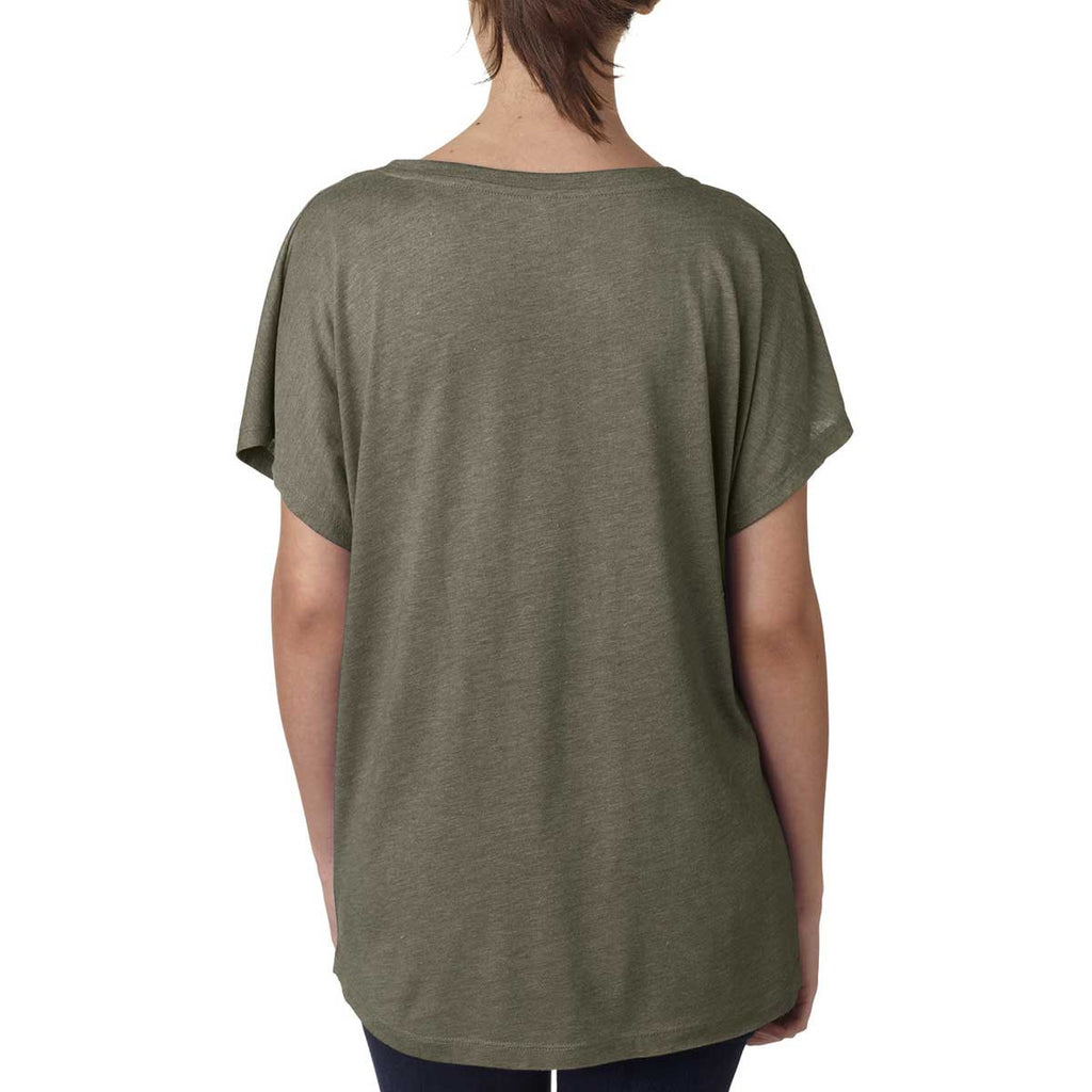 Next Level Women's Venetian Gray Triblend Dolman