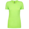 6810-next-level-women-neon-green-tee