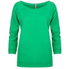 6951-next-level-women-green-tee