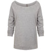 6951-next-level-women-grey-tee