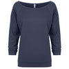 6951-next-level-women-light-navy-tee