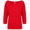 6951-next-level-women-red-tee