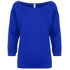 6951-next-level-women-royal-blue-tee