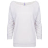 6951-next-level-women-white-tee