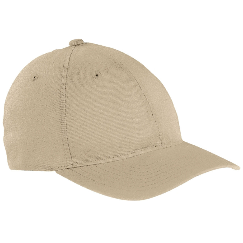 0cdc05a25bd Flexfit Khaki Garment-Washed Twill Cap