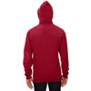 Anvil Men's Independence Red Pullover Hooded Fleece Sweatshirt
