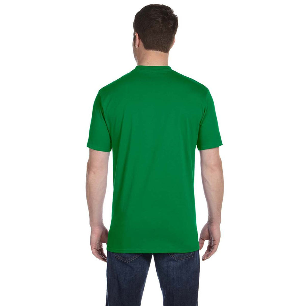 Anvil Men's Kelly Green Midweight T-Shirt