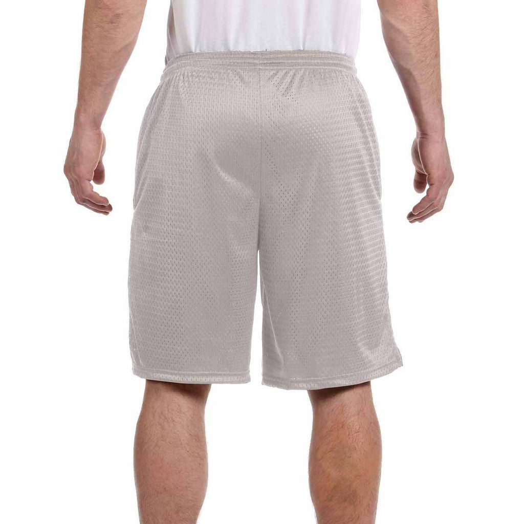 Champion Men's Athletic Grey 3.7-Ounce Mesh Short with Pockets