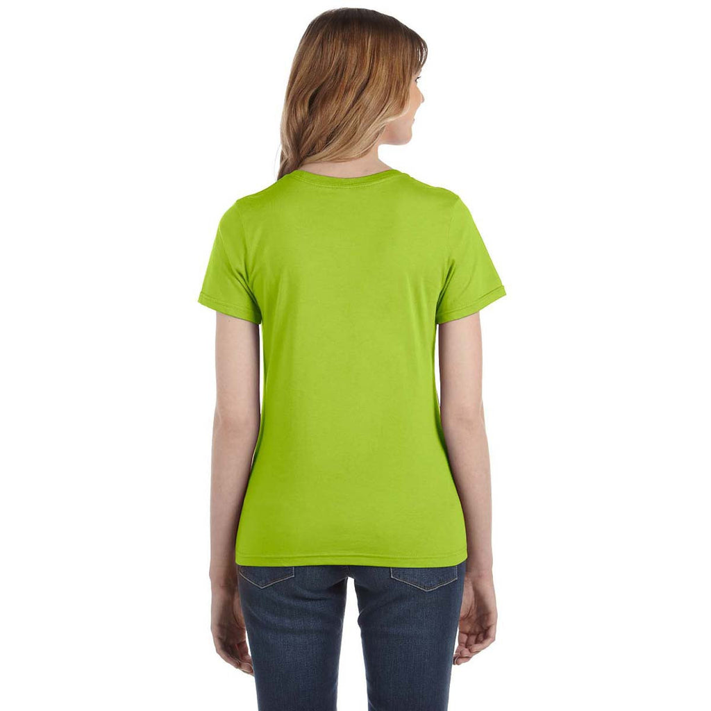 Anvil Women's Key Lime Lightweight T-Shirt