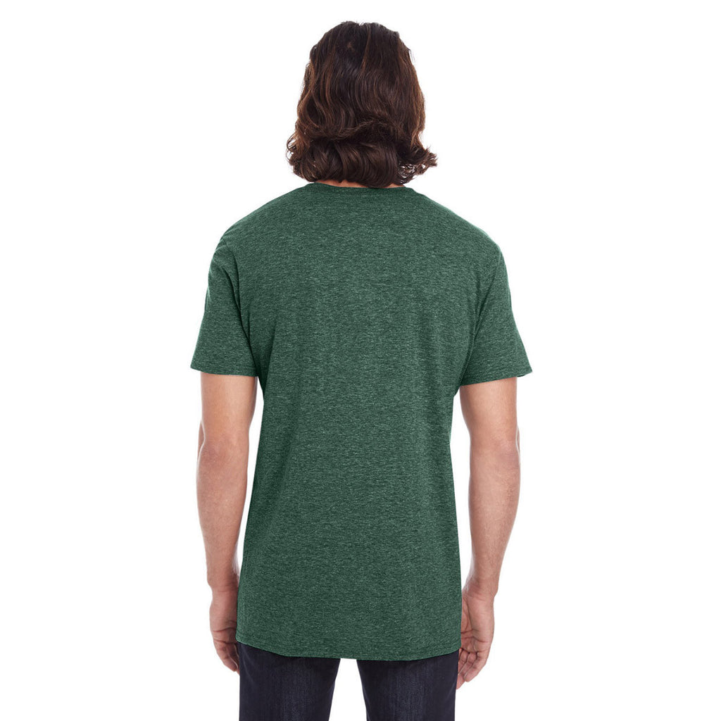 Anvil Men's Forest Green Lightweight T-Shirt