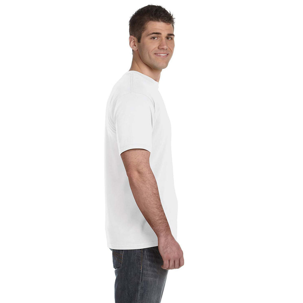Anvil Men's White Lightweight T-Shirt