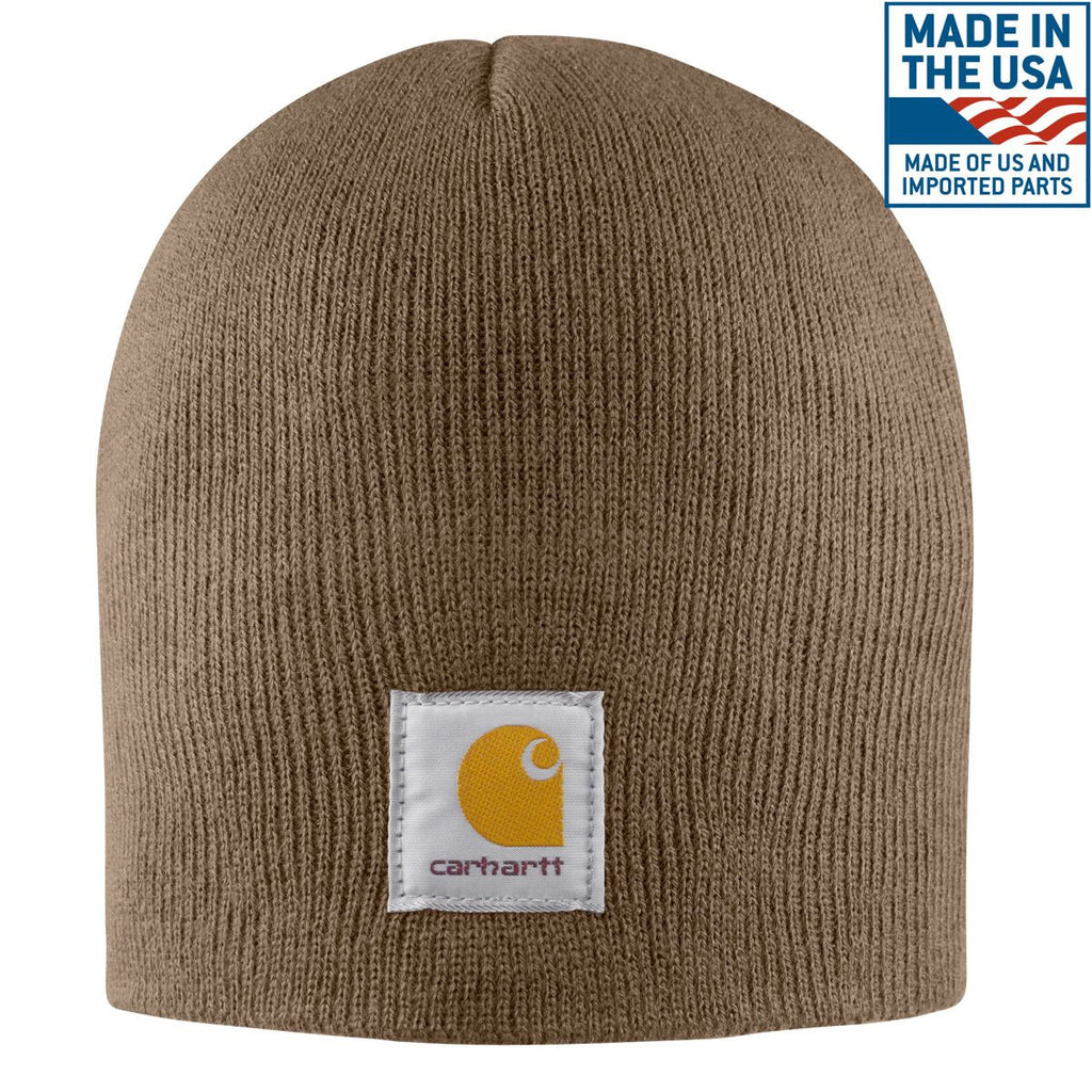 Carhartt Men s Canyon Brown Acrylic Knit Hat b5b22e357c7
