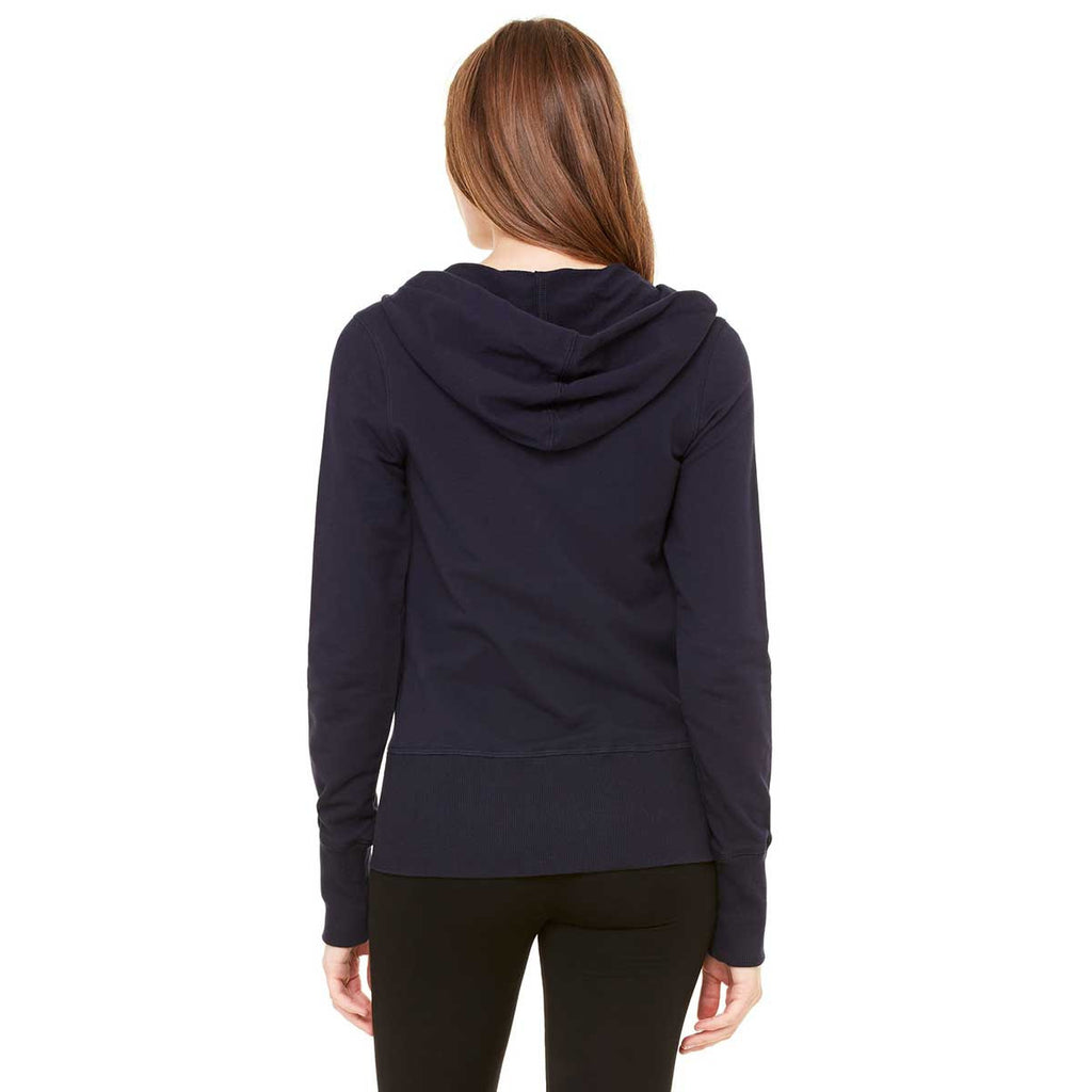 Bella + Canvas Women's Midnight Stretch French Terry Lounge Jacket