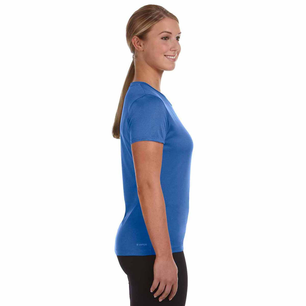 Champion Women's Athletic Royal Heather Vapor 4-Ounce T-Shirt