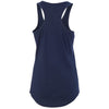 Next Level Women's Midnight Navy Ideal Racerback Tank