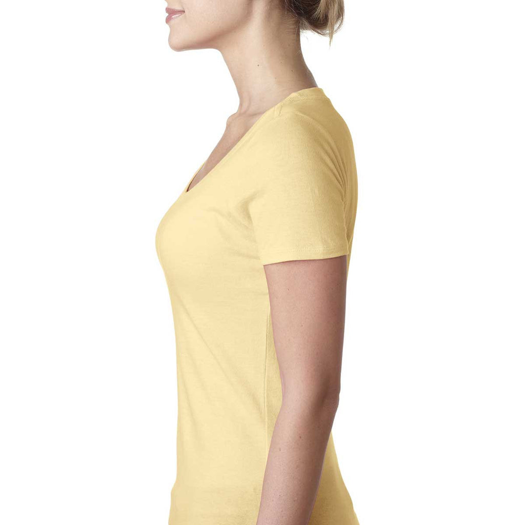 Next Level Women's Banana Cream Scoop Neck Tee