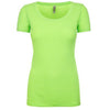 n3530-next-level-women-neon-green-tee