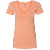 n3540-next-level-women-orange-tee
