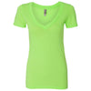 n3540-next-level-women-neon-green-tee