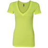 n3540-next-level-women-neon-yellow-tee