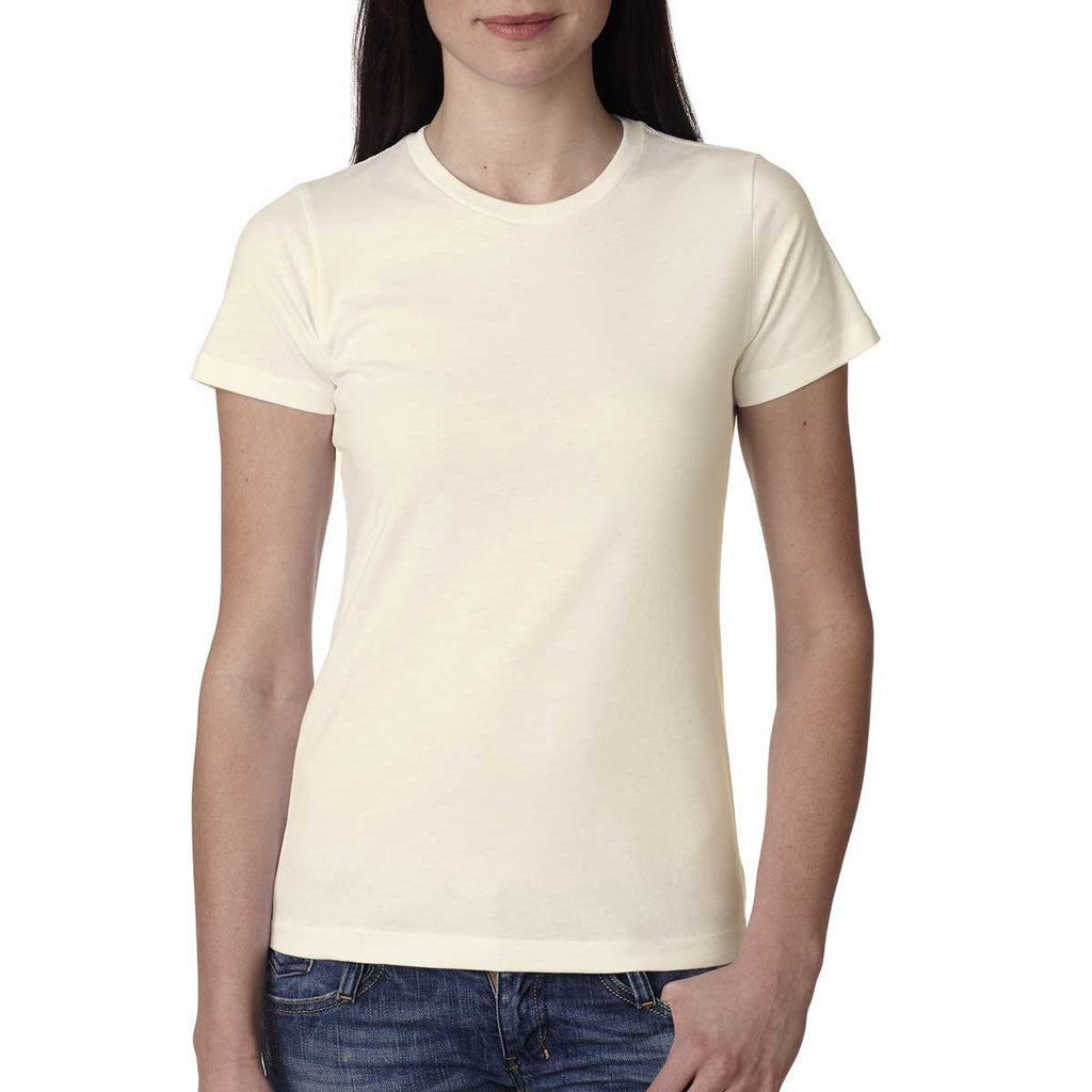 Next Level Women's Ivory Boyfriend Tee