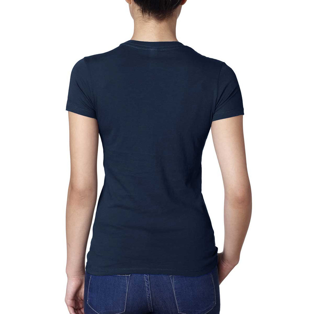 Next Level Women's Midnight Navy Boyfriend Tee