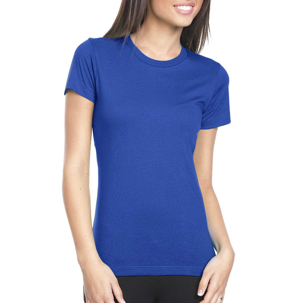 Next Level Women's Royal Boyfriend Tee