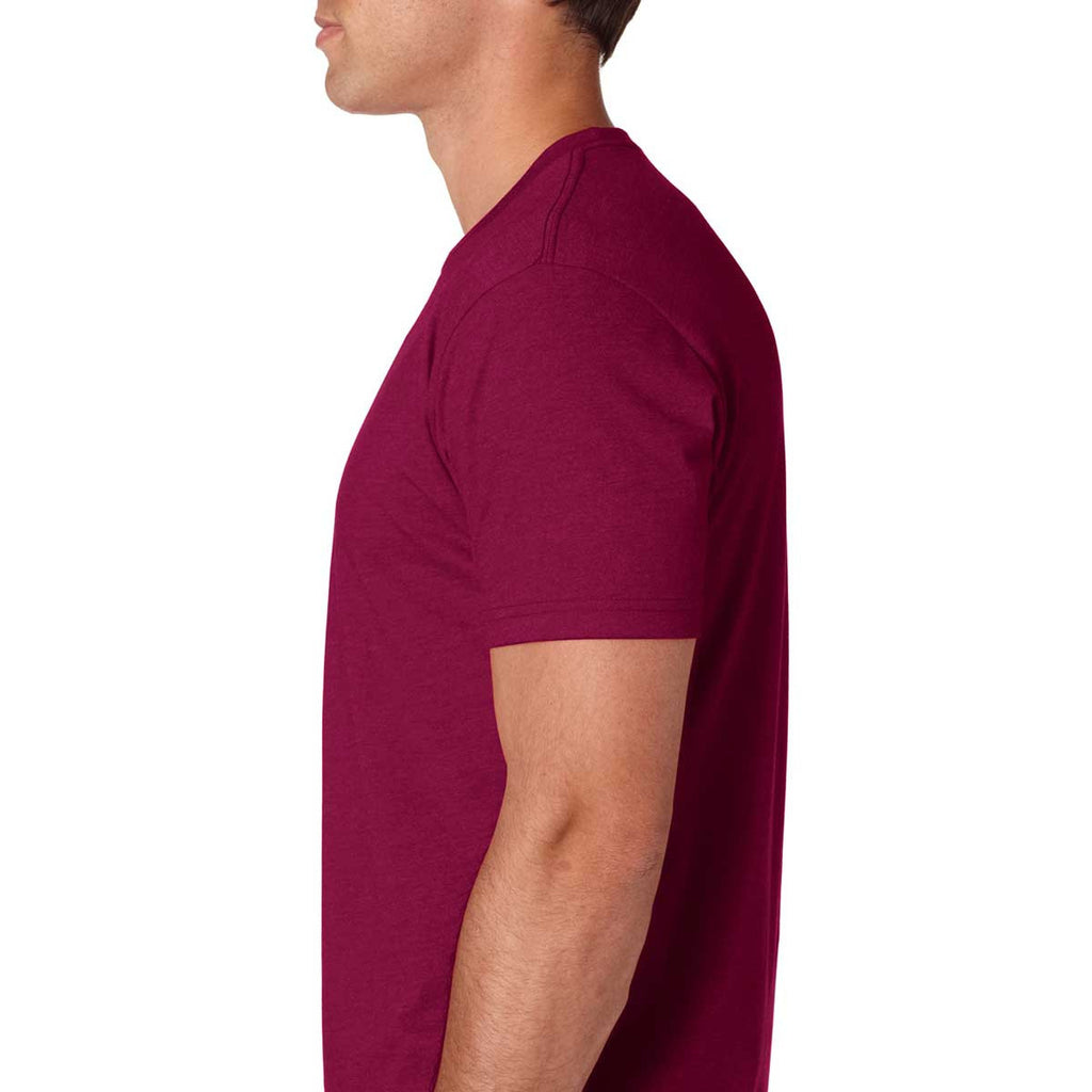 Next Level Men's Cardinal Premium Fitted CVC Crew Tee