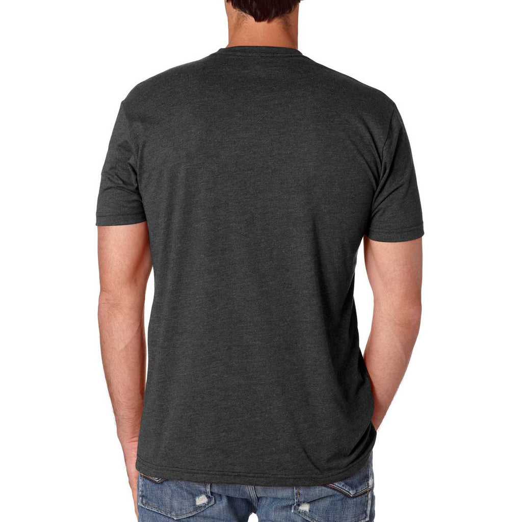 Next Level Men's Charcoal Premium Fitted CVC Crew Tee